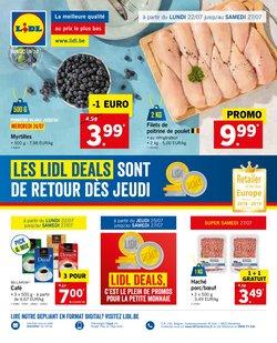 Promos de Supermarchés dans le dépliant de Lidl à Ans