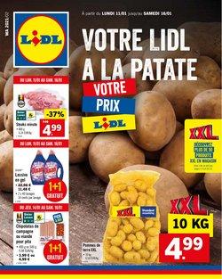 Promos de Supermarchés dans le prospectus de Lidl à Roulers ( Expire aujourd'hui )
