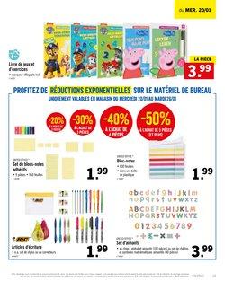 Promos de Supermarchés dans le prospectus à Lidl ( Expire demain )
