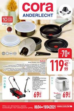 Promos de Supermarchés dans le prospectus de Cora à Bruxelles ( 7 jours de plus )