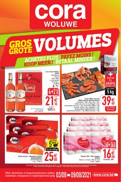 Promos de Supermarchés dans le dépliant à Cora ( 5 jours de plus)