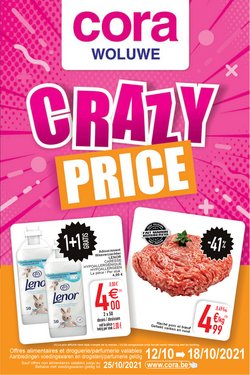 Promos de Supermarchés dans le dépliant à Cora ( Expire aujourd'hui)