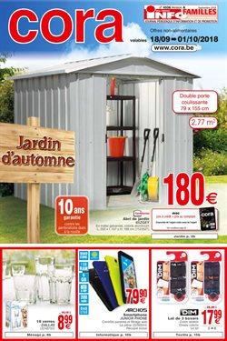 Promos de Supermarchés dans le dépliant de Cora à Mons