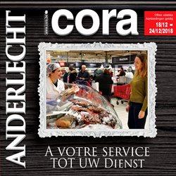 Promos de Cora dans le dépliant à Bruxelles