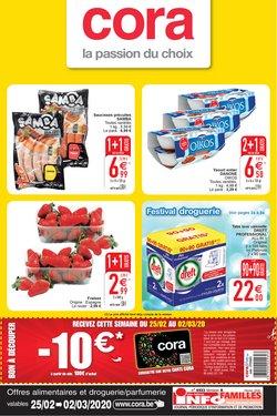 Promos de Supermarchés dans le prospectus de Cora à Liège ( Publié il y a 2 jours )