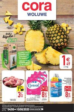 Promos de Supermarchés dans le prospectus de Cora à Louvain ( 3 jours de plus )
