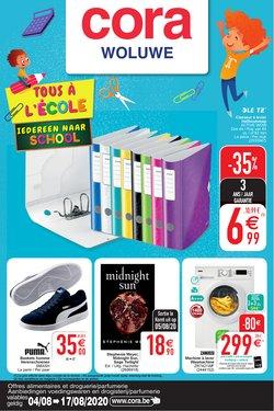 Promos de Supermarchés dans le prospectus de Cora à Louvain ( 10 jours de plus )