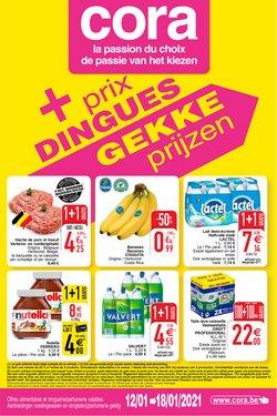 Promos de Supermarchés dans le prospectus de Cora à Bruxelles ( Expire aujourd'hui )
