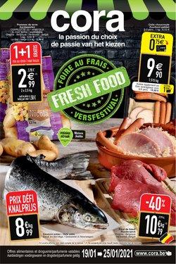 Promos de Supermarchés dans le prospectus à Cora ( 3 jours de plus )