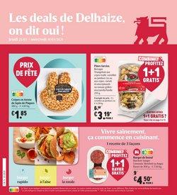 Delhaize coupon à Bruxelles ( Expiré )