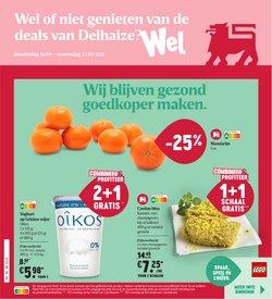 Promos de Supermarchés dans le dépliant à Delhaize ( Expire demain)