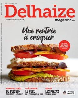 Promos de Delhaize dans le dépliant à Bruxelles