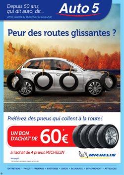 Promos de Voitures Motos et Accessoires dans le dépliant de Auto5 à Liège