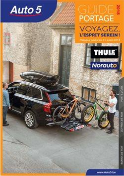 Promos de Auto5 dans le dépliant à Bruges