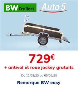 Auto5 coupon à Hasselt ( Plus d'un mois )