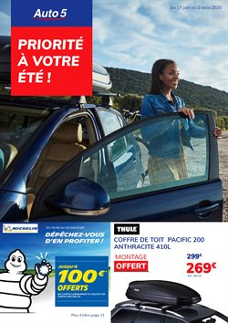 Promos de Voitures et Motos dans le prospectus de Auto5 à Bruxelles ( 22 jours de plus )
