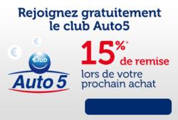 Promos de Auto5 dans le dépliant à Bruxelles