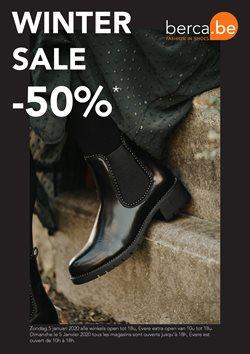 Promos de Berca Shoes dans le dépliant à Bruxelles