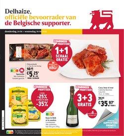 Promos de Supermarchés dans le dépliant à Shop & Go Delhaize ( Publié aujourd'hui)
