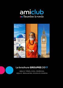 Promos de Voyages dans le dépliant de BT Tours à Dilbeek