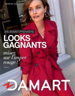 Promos de Damart dans le dépliant à Liège