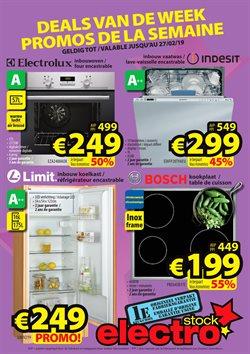 Promos de ElectroStock dans le dépliant à Bruxelles