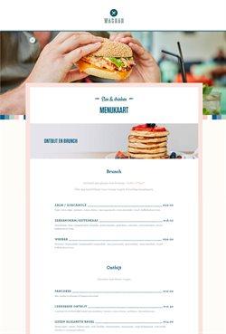 Promos de Restaurants dans le prospectus de Wasbar à Gent ( Plus d'un mois )