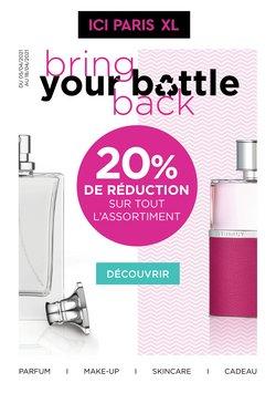 Promos de Parfumeries et Beauté dans le prospectus de ICI PARIS XL à Bruxelles ( 6 jours de plus )