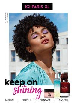Promos de Parfumeries et Beauté dans le dépliant à ICI PARIS XL ( 10 jours de plus)