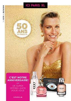 Promos de Parfumeries et Beauté dans le dépliant de ICI PARIS XL à Mons