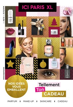 Promos de Parfumeries et Beauté dans le dépliant de ICI PARIS XL à Louvain