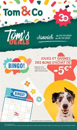 Promos de Bricolage et Jardin dans le prospectus de Tom & Co à Roulers ( 3 jours de plus )