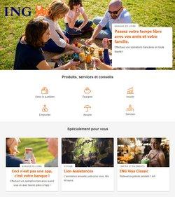 Promos de Banques et Assurances dans le prospectus de ING à Saint-Trond ( 18 jours de plus )
