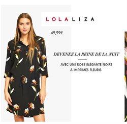 Promos de Lola & Liza dans le dépliant à Bruxelles