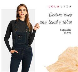Promos de Lola & Liza dans le dépliant à Liège