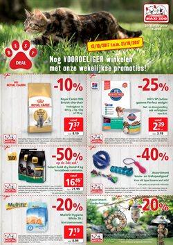 Promos de Bricolage et Jardinage dans le dépliant de Maxi Zoo à Dilbeek