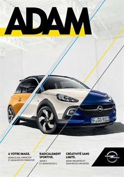 Promos de Opel dans le dépliant à Bruges