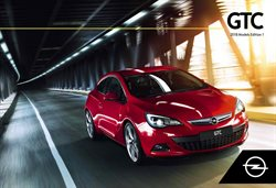 Promos de Opel dans le dépliant à Bruxelles
