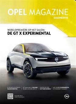 Promos de Opel dans le dépliant à Mons