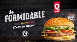 Promos de Restaurants dans le prospectus de Quick à Gent ( Plus d'un mois )