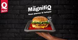 Promos de Restaurants dans le dépliant de Quick à Liège