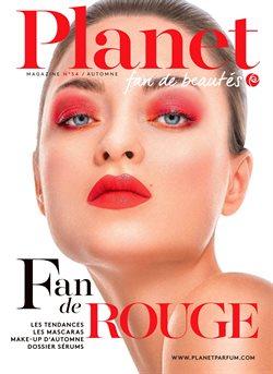 Promos de Parfumeries et Beauté dans le dépliant de Planet Parfum à Bruxelles