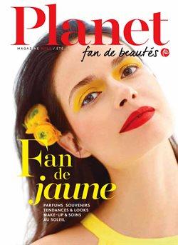 Promos de Parfumeries et Beauté dans le dépliant de Planet Parfum à Louvain