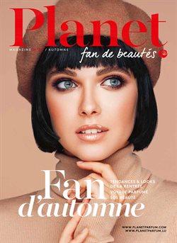 Promos de Parfumeries et Beauté dans le prospectus de Planet Parfum à Bruxelles ( Expiré )