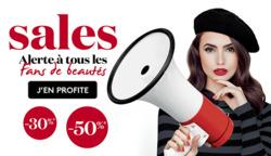 Promos de Planet Parfum dans le dépliant à Bruxelles