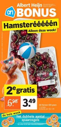 Promos de Supermarchés dans le dépliant de Albert Heijn à Liège