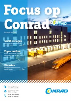Promos de Électronique dans le dépliant de Conrad à Overijse