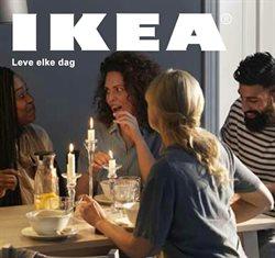 Promos de IKEA dans le dépliant à Gent