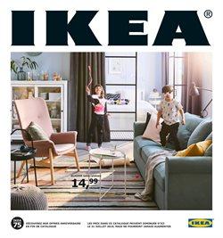 Promos de IKEA dans le dépliant à Bruxelles