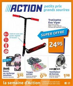 Action coupon ( Publié hier)
